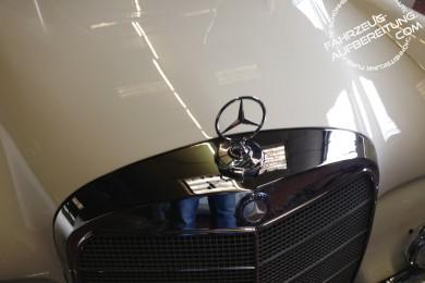 Mercedes und Chrom Wachsversiegelung