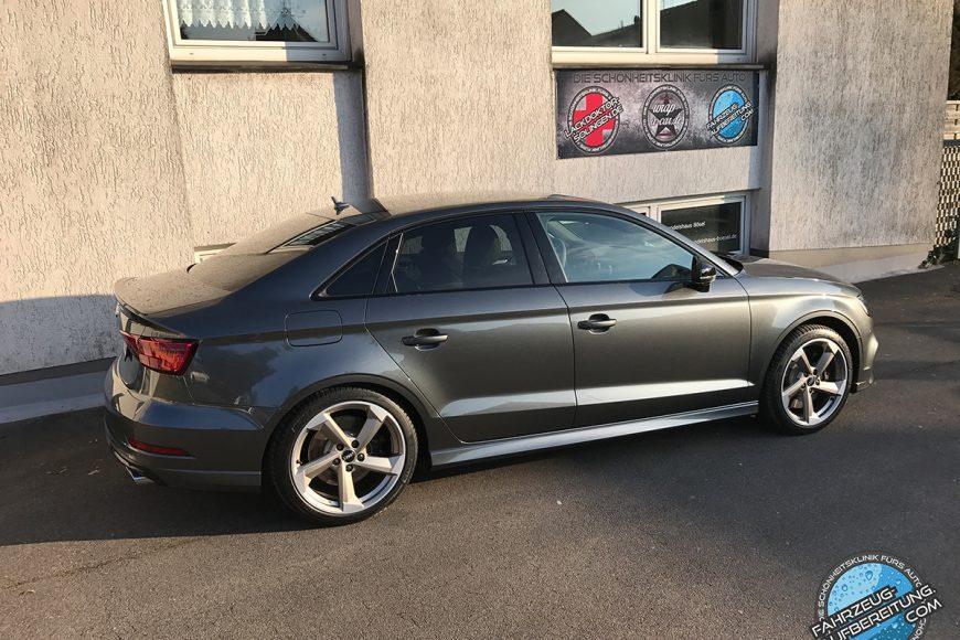 Audi S3 Lackversiegelung by Fahrzeug-Aufbereitung.com